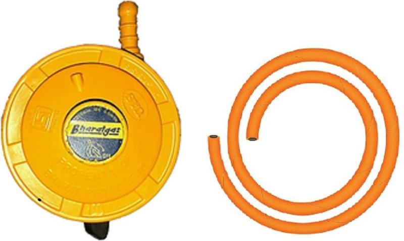 bondad hub Low Pressure Gas Cylinder Regulator(Aluminium, PVC (Polyvinyl Chloride), Iron)
