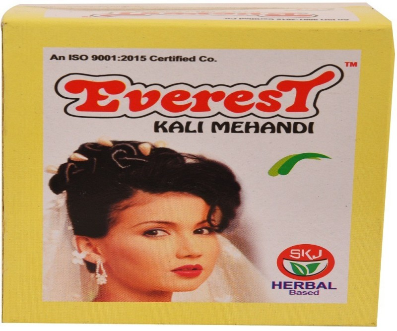 Everest Kali Natural Mehendi(Pack of 2)