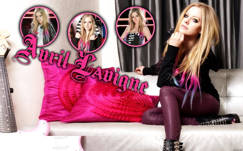 Music Avril Lavigne Singers Canada HD Wallpaper Background Fine Art Print(12 inch X 18 inch, Rolled)