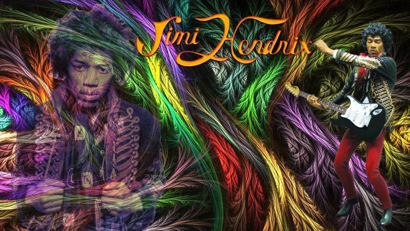 Music Jimi Hendrix Singers United States Rock HD Wallpaper Background Fine Art Print(12 inch X 18 inch, Rolled)