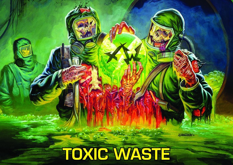 Music Municipal Waste Horror Creepy Spooky Scary Halloween HD Wallpaper Background Fine Art Print(12 inch X 18 inch, Rolled)