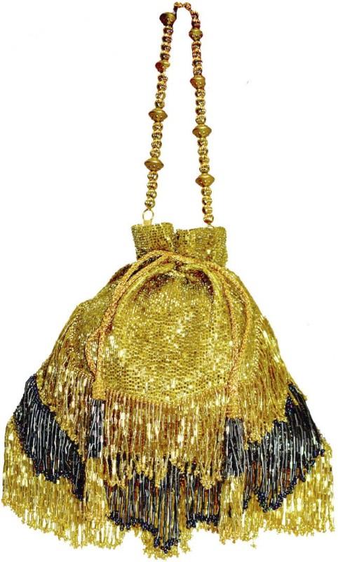 Saffronworld Fancy Potli Party Wear-3 Potli(Multicolor)