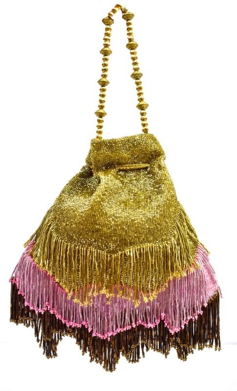 Saffronworld Fancy Potli Party Wear-1 Potli(Multicolor)