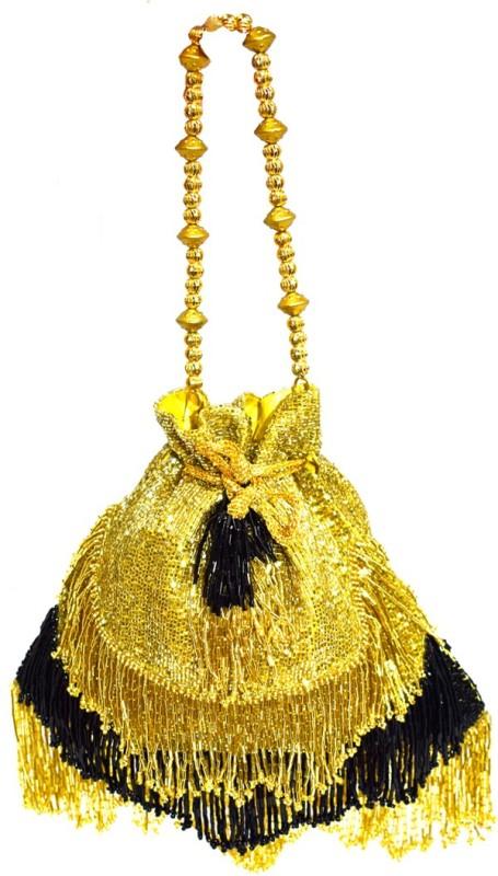 Saffronworld Fancy Potli Party Wear-2 Potli(Multicolor)