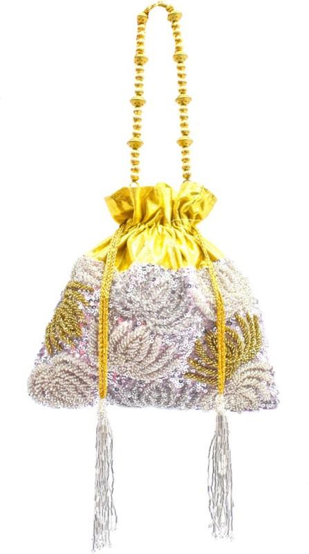 Saffronworld Fancy Potli Party Wear-6 Potli(Multicolor)