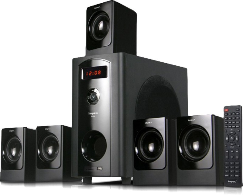 Impex Lyric 5.1 70 Bluetooth Home Audio Speaker(Black, 5.1 Channel)