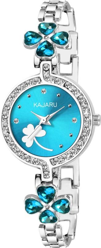KAJARU BANGLE-944 BLUE DIAL NEW ARRIVAL WATCH FOR GIRLS Analog Watch  - For Women