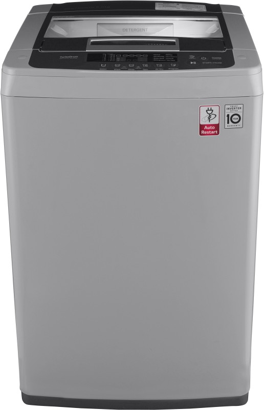 LG 6.5 kg Inverter Fully Automatic Top Load Washing Machine Silver(T7569NDDLH.ASFPEIL)