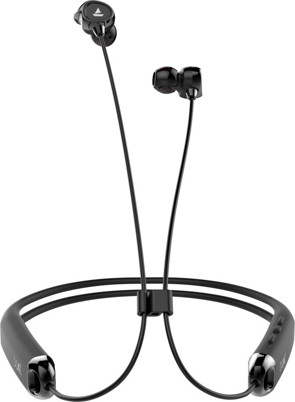 boAt Rockerz 325 Bluetooth Headset with Mic(Black, In the Ear)
