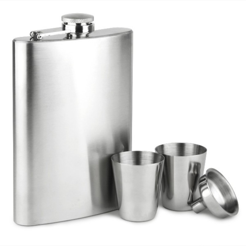HOTWINE 4 - Piece Bar Set(Stainless Steel)