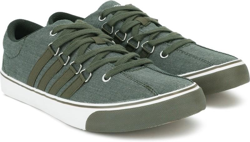 PROVOGUE Canvas Shoes For Men(Olive)