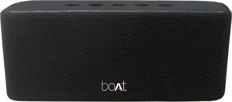 boAt Aavante 5 10 Bluetooth Speaker(Premium Black, Mono Channel)
