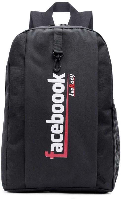 LeeRooy 6 21 L Laptop Backpack(Black)