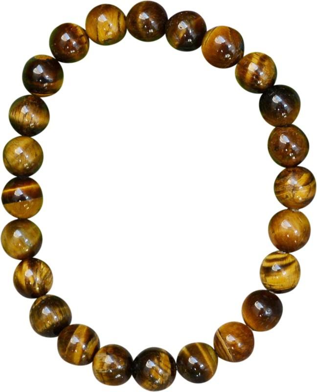 Silvesto India Stone Tiger's Eye Bracelet