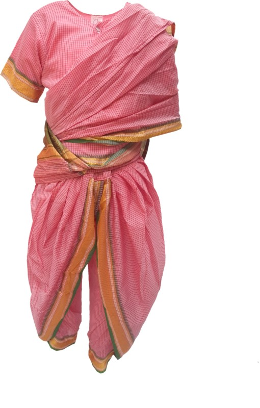 Kaku Fancy Dresses Marathi Girl Fancy Dress For Kids Indian State Traditional Wear Costume For Annual Function Theme Party Competition Stage Shows Birthday Party Dress Kids Costume Wear Buy Online In Dominica At Dominica Desertcart Com Productid