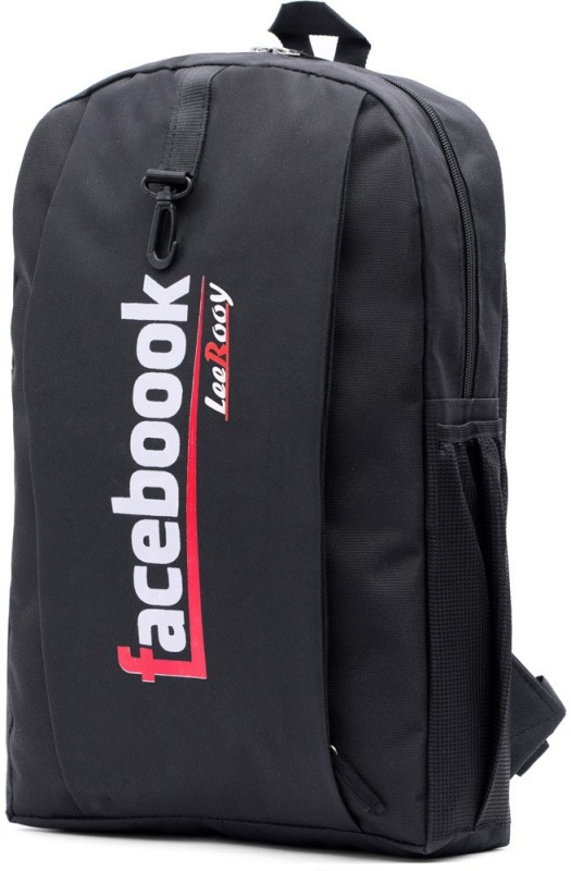 LeeRooy 17 inch Laptop Backpack(Black)