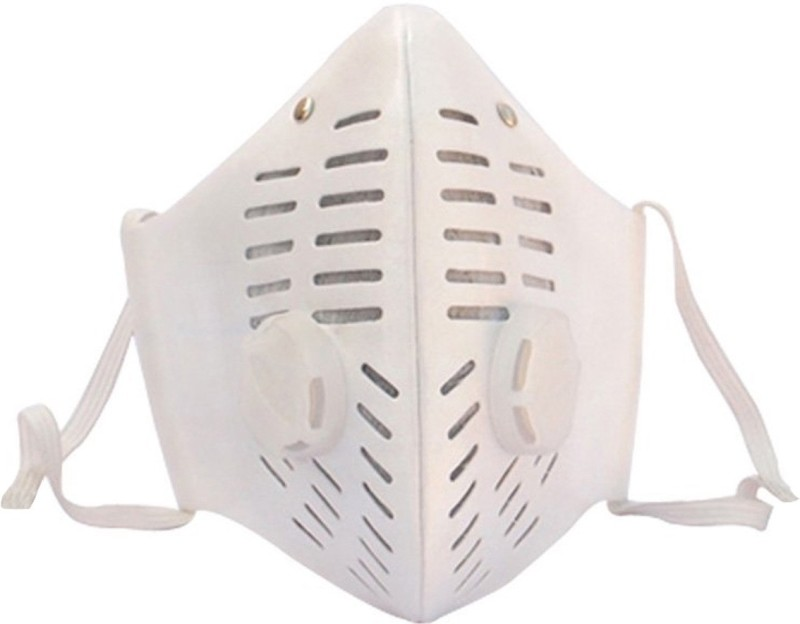 Healthllave Pollution Mask - White Elevation Training Mask(Medium)