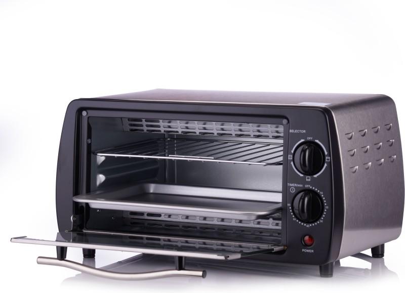 Koryo 10 L Grill Microwave Oven(KOR 10L OTG KOT1121, Black & White)