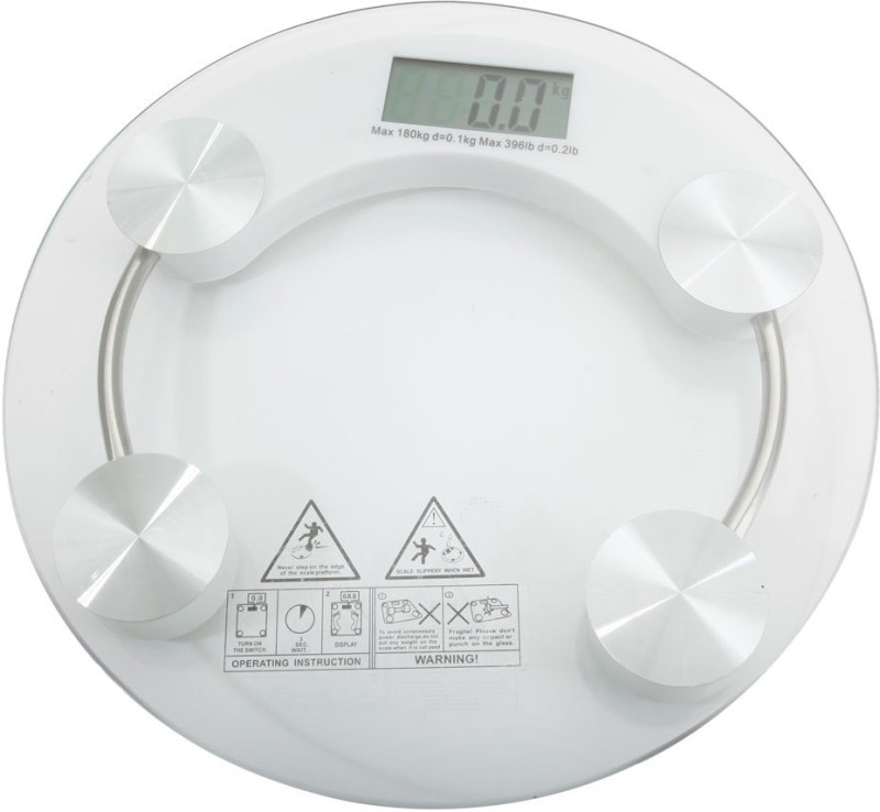 vanex BODY WEIGHT SCALE HEALTH Weighing Scale(White)