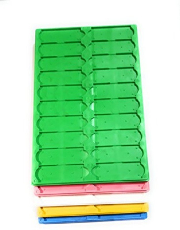 Hats Off Glass Slides Tray for Pathology, Histo Pathology & Micro biology labs and Blood banks (set of 5 Trays) Standard Slide(100 mm, Pack of 5)