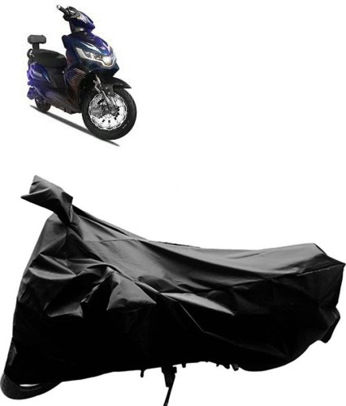 GoldRich Two Wheeler Cover for Universal For Bike(Black)