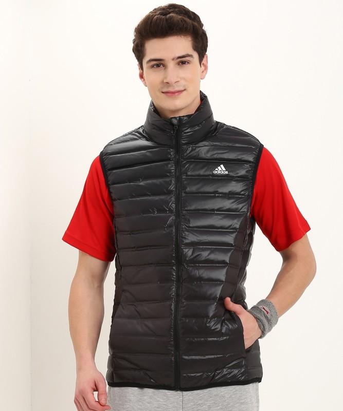 ADIDAS Sleeveless Solid Men's Jacket