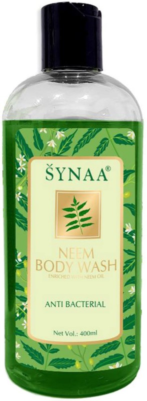 Synaa Neem Body wash - Natural Anti bacterial and Skin Purifier 400 ML(400 ml)