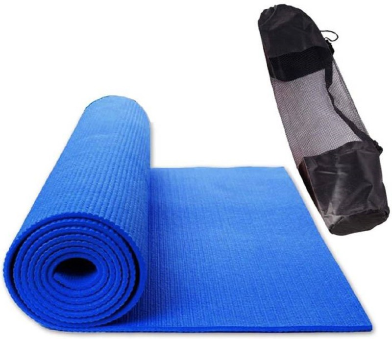 Quick Shel 100% EVA ECO FRIENDLY BLUE 6 mm Exercise & Gym, Yoga Mat Blue 6 mm Yoga Mat