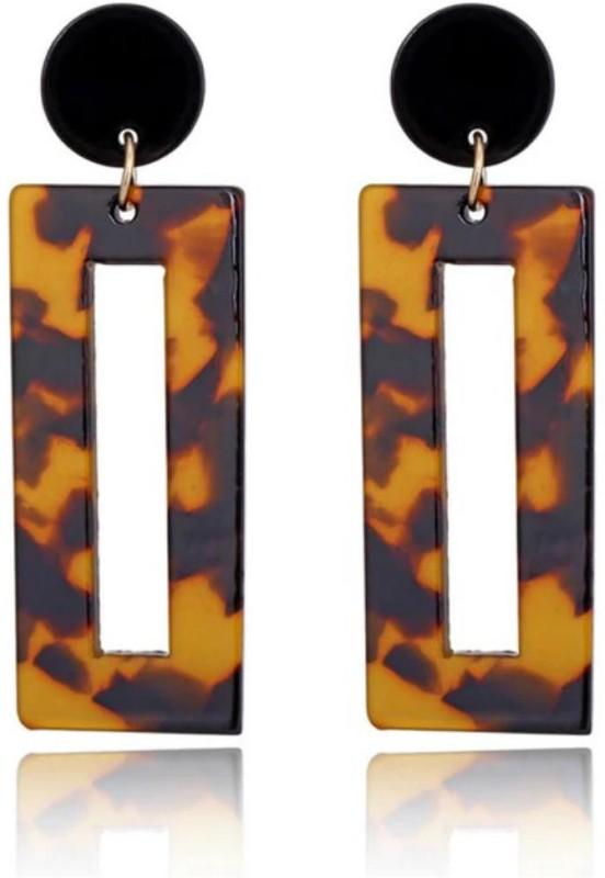 MYKI Girly Geometrical Trendy Earrings For Women & Girls Alloy Drops & Danglers