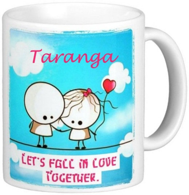 Exoctic Silver TARANGA_Best Gift For Loved One's_LRQ133 Ceramic Mug(330 ml)