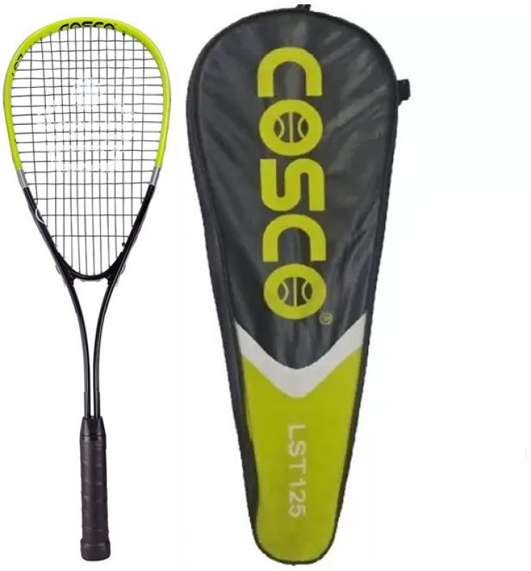 Cosco LST 125 Aluminium Multicolor Strung Squash Racquet(Standard, 210 g)