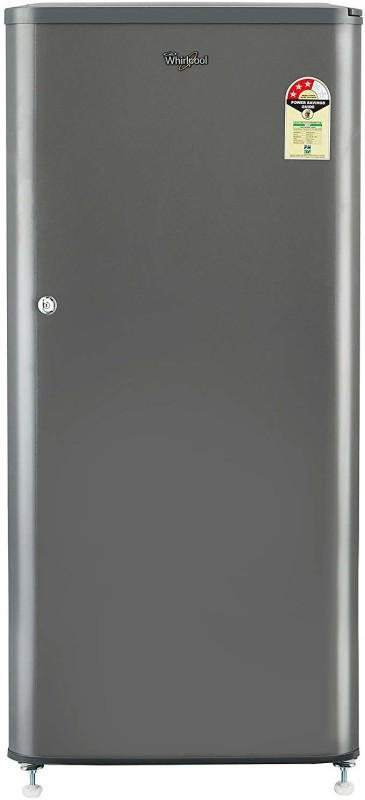 Whirlpool 190 L Direct Cool Single Door 3 Star Refrigerator(Solid Grey, WDE 205 CLS 3S)