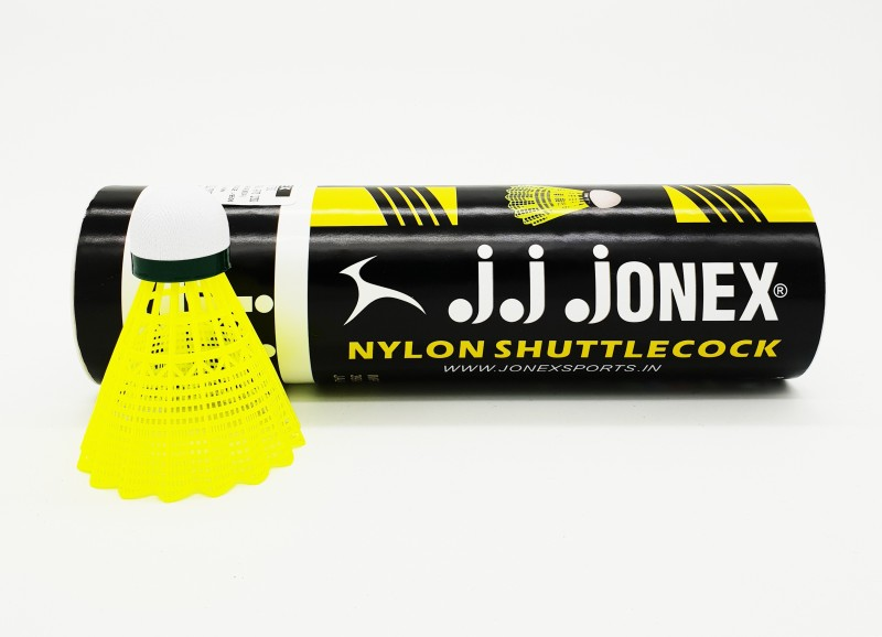 JJ JONEX JJ-350@THE ONLINE STORE Nylon Shuttle  - Multicolor(Medium, 77, Pack of 6)