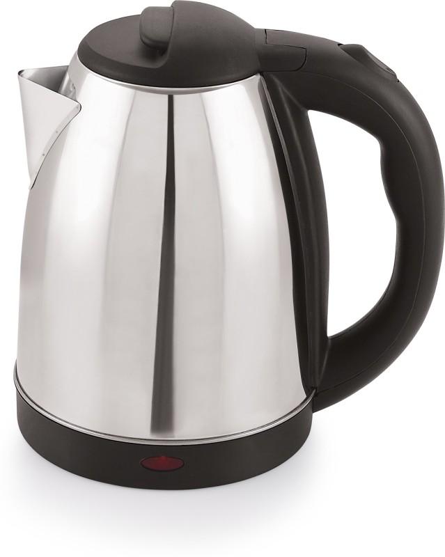 BMS Lifestyle Fast Boiling Tea Kettle Cordless,Stainless Steel Hot Water Kettel-Tea Kettle-Tea Pot-Hot Water Heater Dispenser Electric Kettle Electric Kettle(1.8 L, Silver)