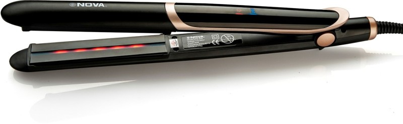 Nova Infrared NHS 889 Hair Straightener(Black)