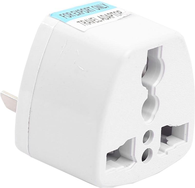 HI-PLASST Austalia New-Zealand Converter Pin Plug for various Appliances 3pcs Worldwide Adaptor(White)