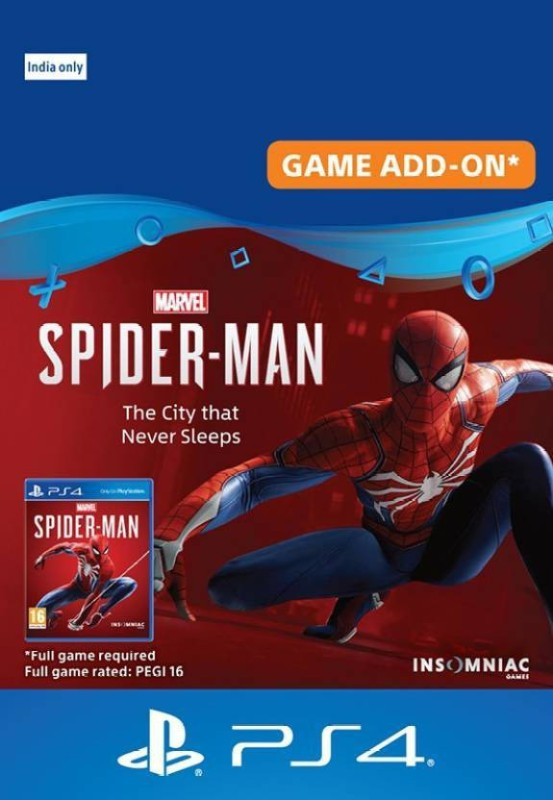 Marvel's Spider-Man: The City that Never Sleeps (Game Add-On)(Code in the Box - for PS4)