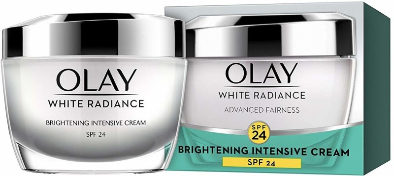 Olay White Radiance Advanced Fairness Protective Skin Cream Moisturizer UVA/UVB - SPF 24 PA++(50 g)