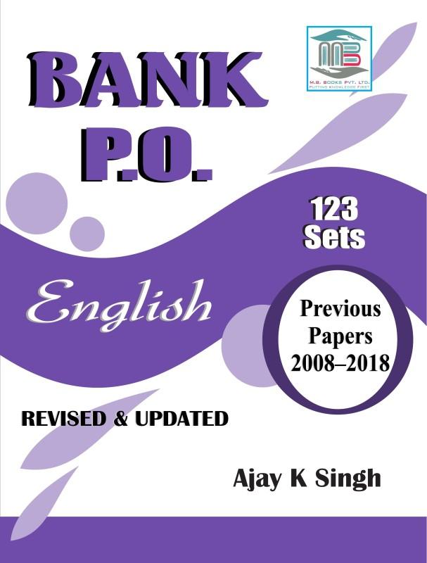 Bank Po English 123 Set(GLUE BANDING, ENGLO - HINDI, AJAY KUMAR SINGH)