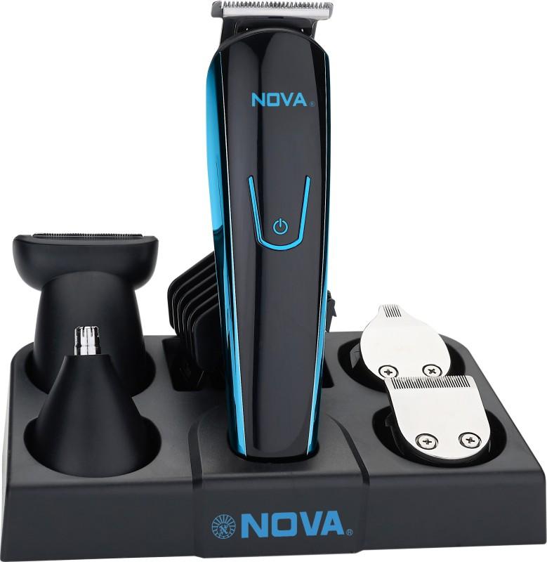 Nova NG 1152 USB Cordless Trimmer for Men(Black)