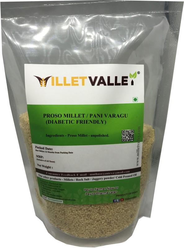 millet valley Proso Millet / Barri/ Panivaragu/ Varigulu/ Baragu Proso Millet(1800 g)