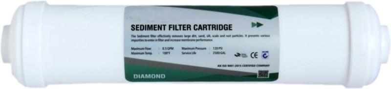 Aqua Sediment filter cadridge Diomand Solid Filter Cartridge(1, Pack of 1)