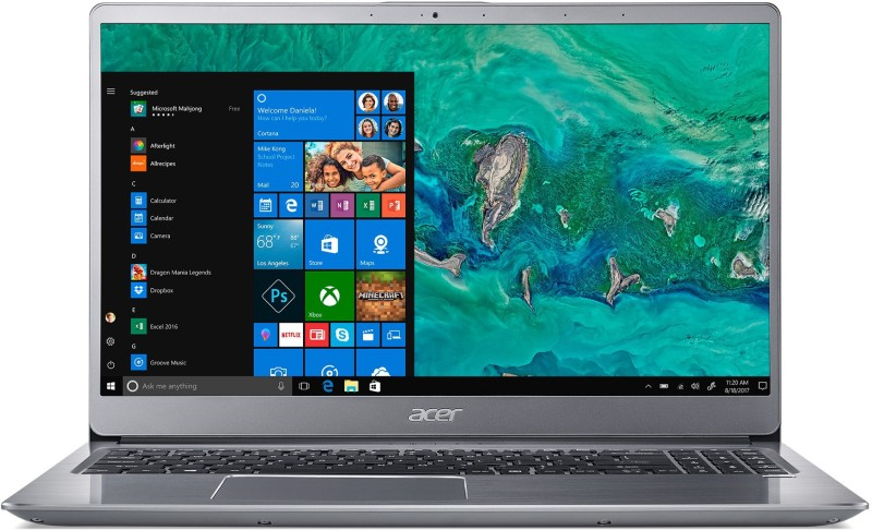 Acer Swift 3 Core i5 8th Gen - (8 GB/1 TB HDD/128 GB SSD/Windows 10 Home/2 GB Graphics) SF315-52G Laptop(15.6 inch, Grey, 1.8 kg, With MS Office)