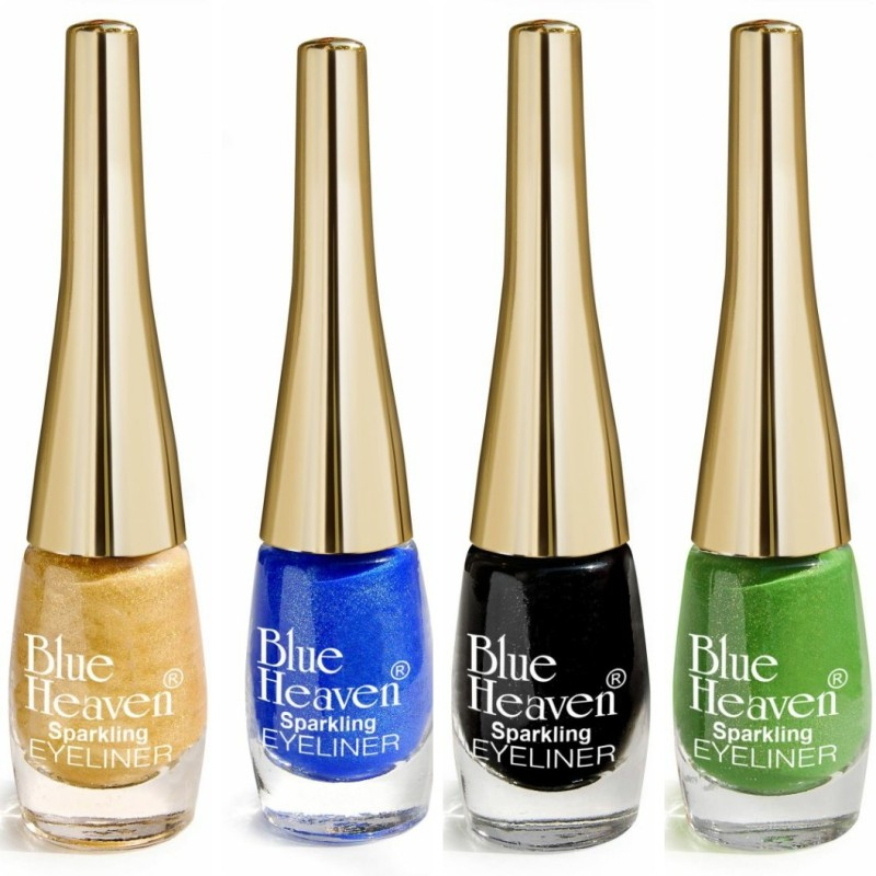 Blue Heaven EYELINER_2_4_6_7 4 ml(Golden, Green, Blue, Black)