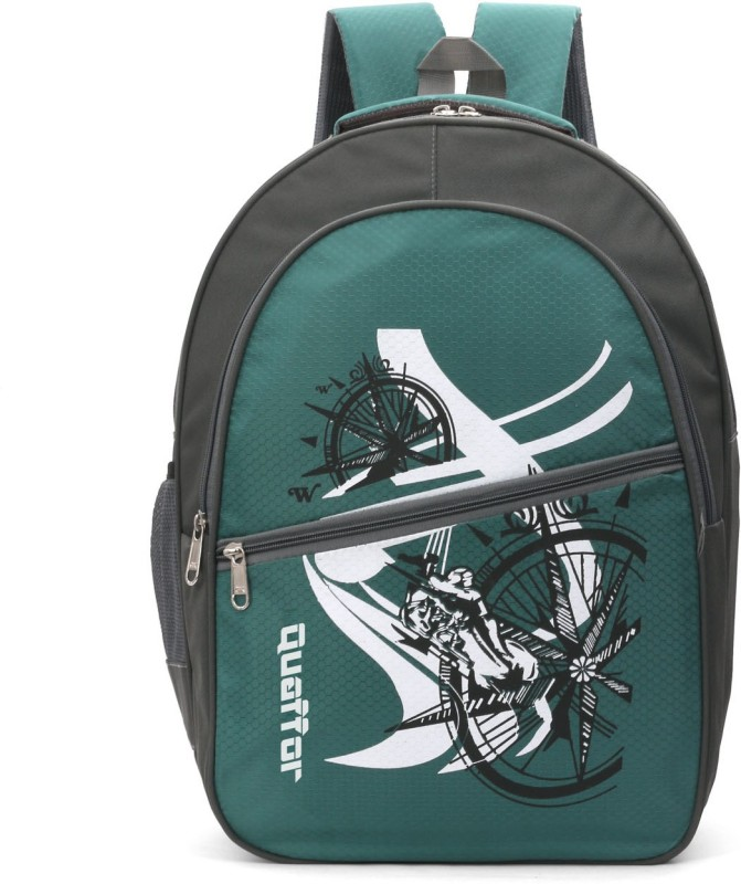 Quaffor 19 inch Laptop Backpack(Green)