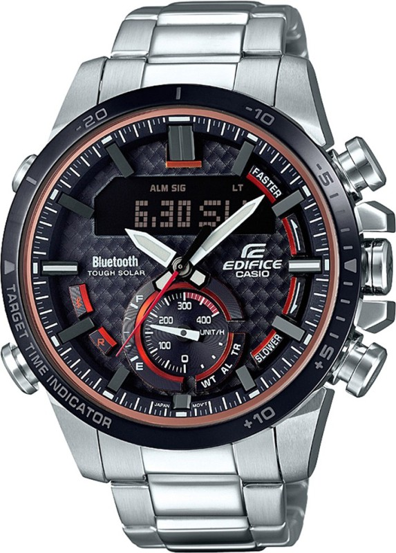 Casio EX451 Edifice Analog-Digital Watch - For Men