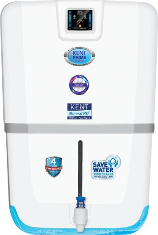 Kent Prime Plus (11065) 9 L RO + UV + UF + TDS Water Purifier(White)