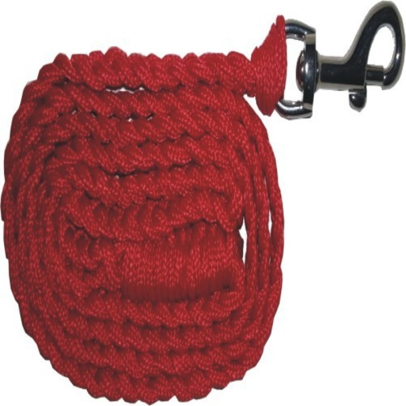 PETS R KIDS Hand Made Rope Leash 150 cm Dog & Cat Cord Leash(Red)