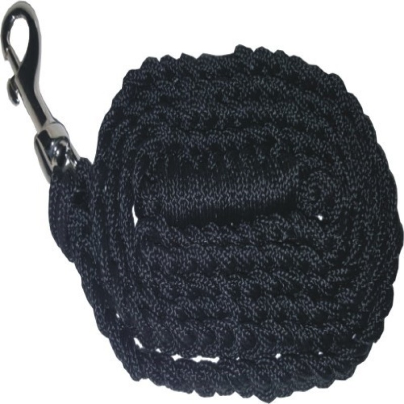 PETS R KIDS Hand Made Rope Leash 150 cm Dog & Cat Cord Leash(Black)