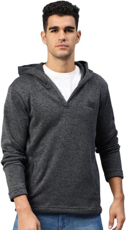 HRX by Hrithik Roshan Full Sleeve Self Design Men Sweatshirt
